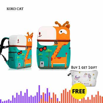 Kid Unicorn Backpack Cute 3D Cartoon Dinosaur Anti-lost Printed Kindergarten orthopedic School Bag for Girl Boy Children Mochila - DISCOUNT ITEM  45 OFF Luggage & Bags