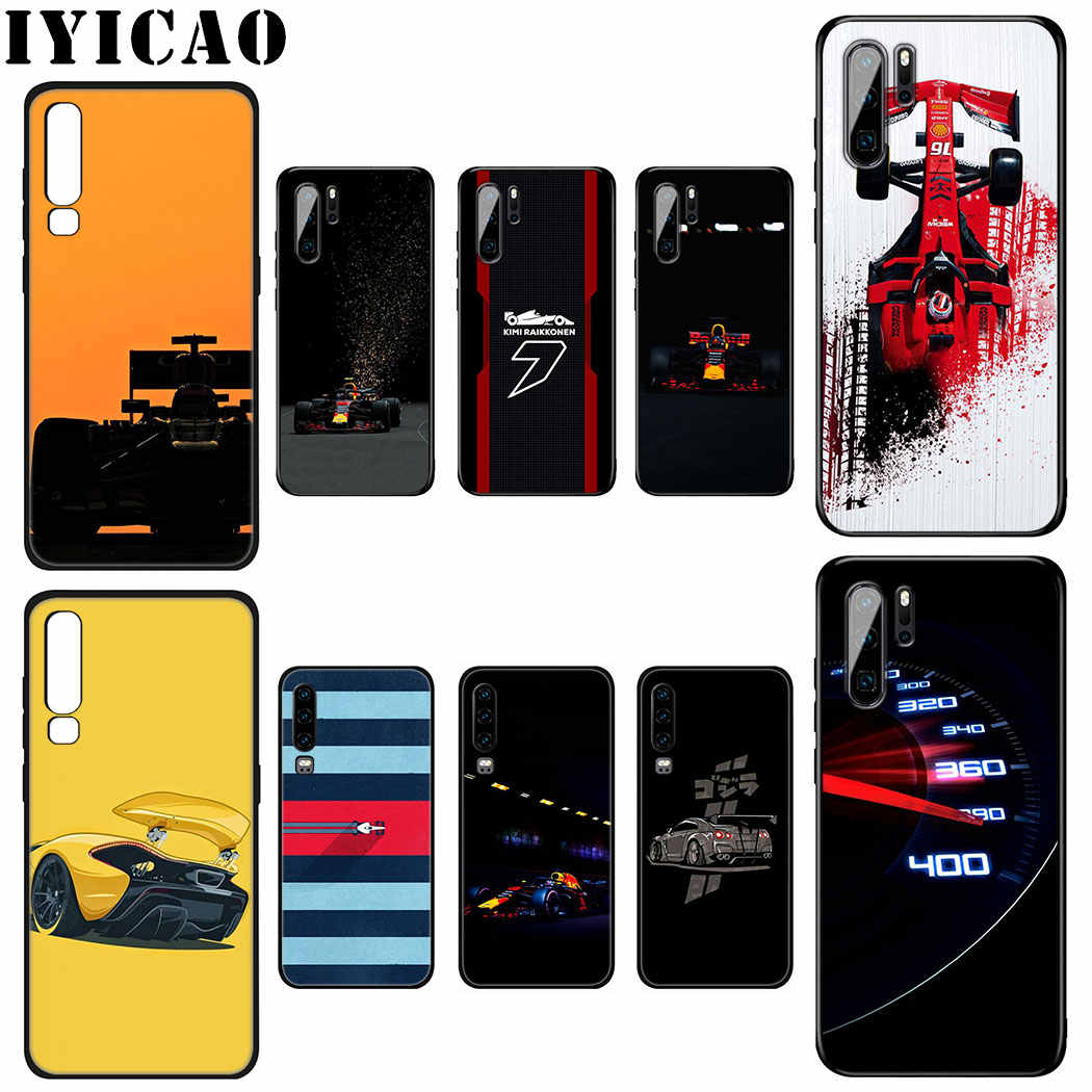 IYICAO for Formula 1 Soft Silicone Case for Huawei P Smart Z Plus 2019 P30 P20 P10 Lite Pro Phone Case