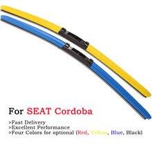 Hesite Цветной ветровое стекло стеклоочистителей для seat cordoba