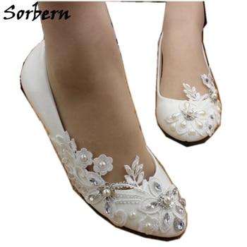 Sorbern Cheap Crystal Wedding Shoes