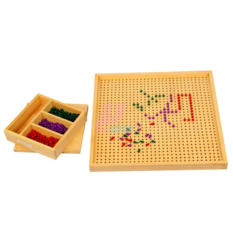 Монтессори материал Математика стандартная версия игры Монтессори Обучающие деревянные игрушки