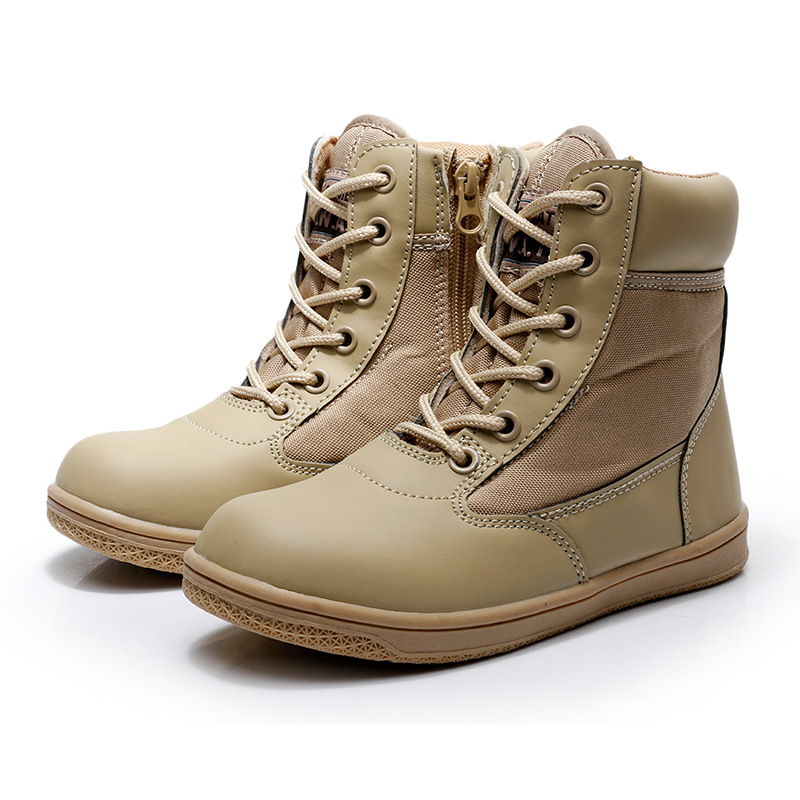 2019 New Style Low Top Children Combat Boots Children Summer Camp Combat Boots Men And Women Combat Boots Tactical Boots