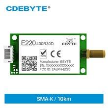 LLCC68 RS485 Wireless Module 410MHz 493MHz 29.5/30.5dBm E220-400R30D LoRa Spread Spectrum Technology Transparent Transmission