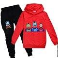 «Паровозик Томас», новые комплекты одежды для детей весенне-осенний детский хлопковый свитер с капюшоном для детей игра по всему изделию дл...