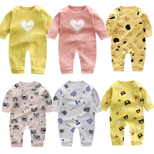 Summer Baby Rompers Spring Kids Outfits Long-Sleeve Girls Ropa-De-Bebe for Boys Jumpsuit