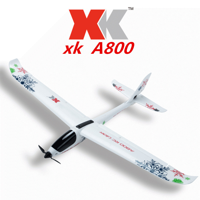 Weili XK A800 Remote Control Glider 3d6g Switch 5 Port Fixed-Wing Remote Control Aircraft Airplane Model Toy