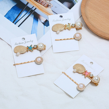 HOCOLE Fashion Women Pearl Metal Barrette Hair Clips Bobby Pin Hairpin For Girls Hair Styling Accessories Headdress Tool Jewelry цена и фото