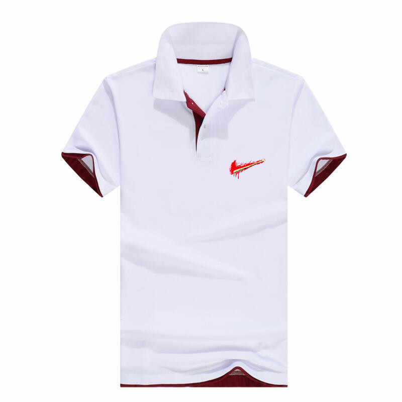 Men's clothing 2019 men's Polo shirt pattern short-sleeved Polo shirt 14 color cotton casual shirt sports Polo shirt large size