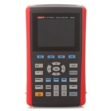 цена на UNI-T UTD1025DL 2 Channels/25Mhz/250MS/s Portable Handheld Digital Storage Oscilloscope Multimeter DMM 2 in 1