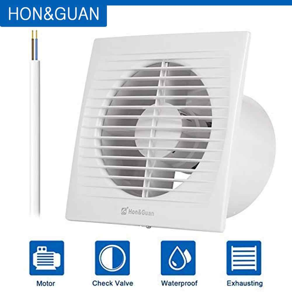 Hon Guan 6 Home Ventilation Fan Exhaust Fan Ceiling And Wall Mount Fans For Bathroom Super Silent Energy Saving Hga 150c Aliexpress