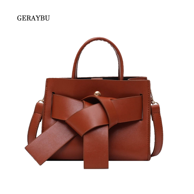 Fashion Female Shoulder Bag Square Simple Women Handbag Faux Leather Youth Diagonal Bag High Quality Work Lightweight Bag Brown