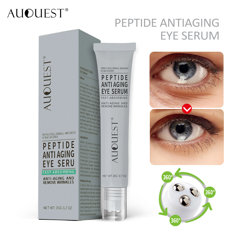 Auquest Peptides Anti Wrinkle Eye Cream Moisturizing Skin Lifting