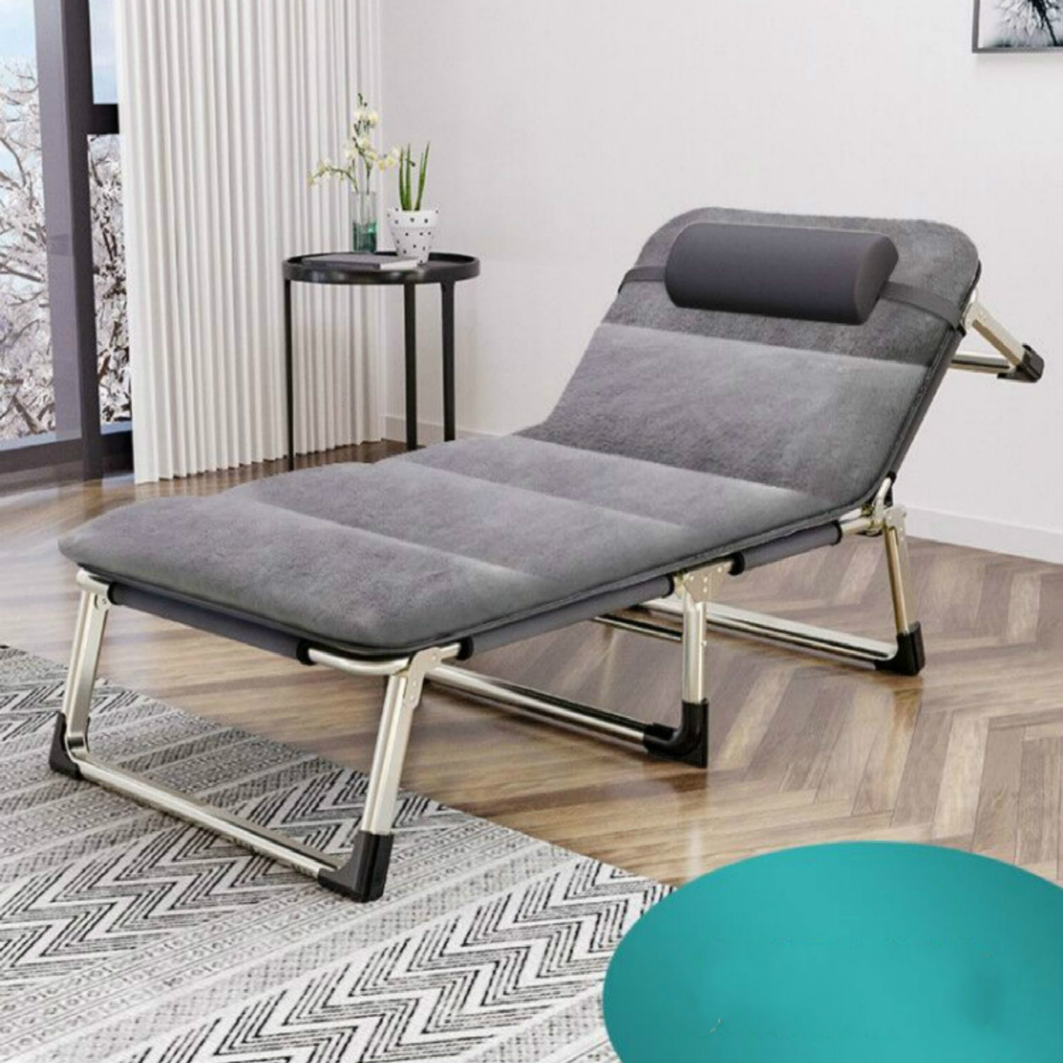 Multifunctional Folding Beds, Single Office, Simple March Escort, Adult Nap Chair, Nap Bed, Portable