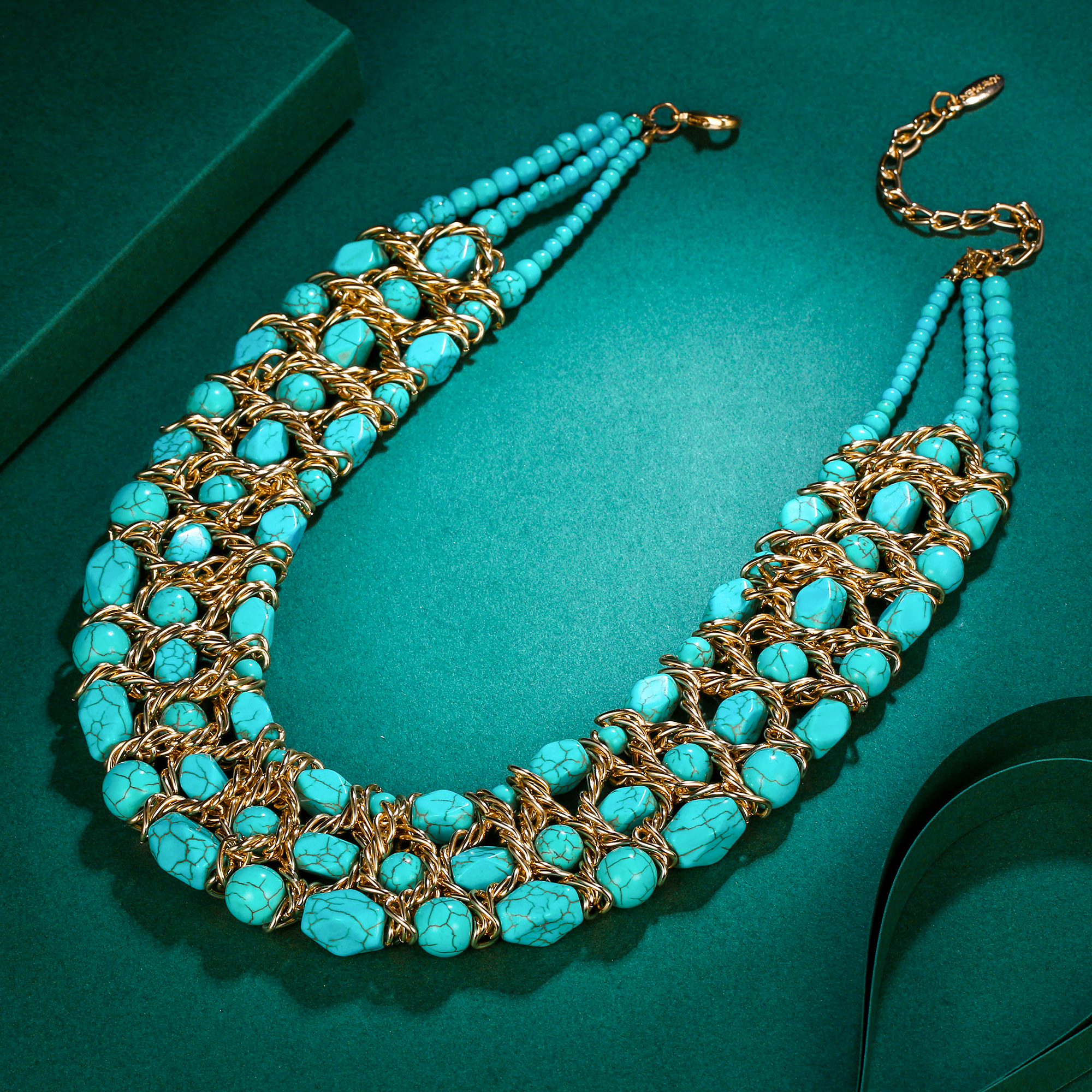 Collier Noel Tuliper Women Statement Necklace Turkish Collier Noel Choker