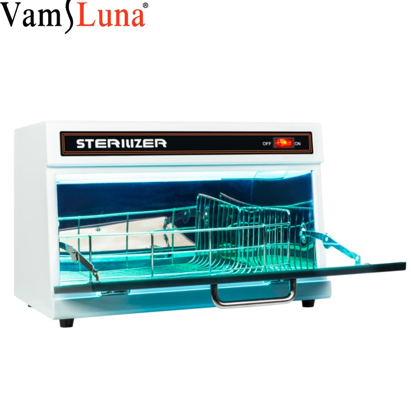 Nail Salon UV Sterilizer 11L - Disinfection Cabinet For Hairdressing, Manicure Tool & Dental in Beauty Spa