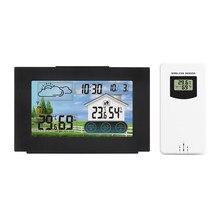 Station météo sans fil intérieur extérieur capteur thermomètre hygromètre météo prévision horloge température humidité humidimètre