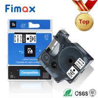 Fimax 1Pack 45013 45010 S0720530 dymo d1 Label Maker 12mm 40918 45021 45016 45010 45018 für DYMO Label drucker Band Band LM160