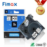 Fimax 1Pack 45013 45010 S0720530 dymo d1 Label Maker 12mm 40918 45021 45016 45010 45018 for DYMO Label Printer Ribbon Tape LM160