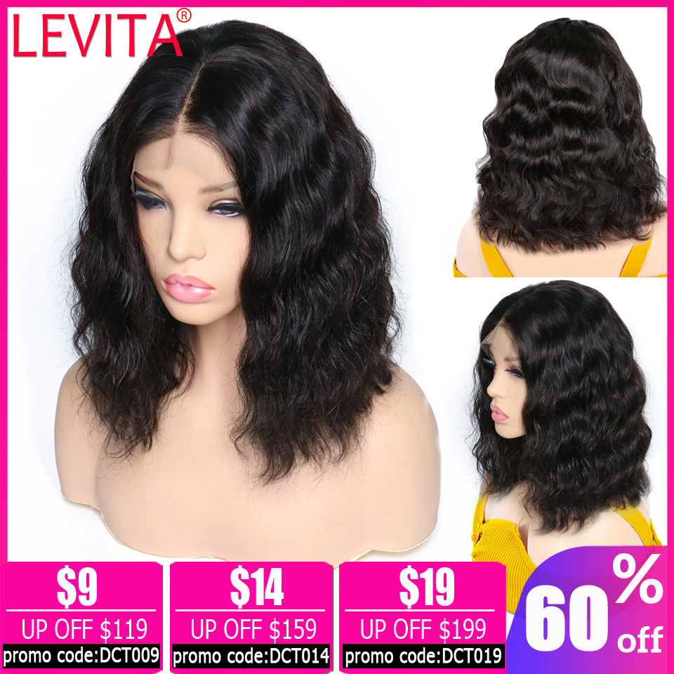 13x4 Lace Front Wig Body Wave Wig Bob Lace Front Wigs Short Lace Front Human Hair Wigs For Black Women Brazilian Wig Non-remy
