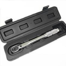 цена на Torque wrench 1/4 3/8 1/2 Square Drive 5-210N.m Two-way Precise Ratchet Wrench Repair Spanner Key Hand Tools