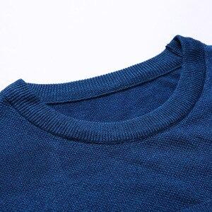 Image 3 - 2020 브랜드 남성 풀오버 스웨터 남성 니트 저지 스트라이프 스웨터 남성 니트 의류 Sueter Hombre Camisa Masculina 100