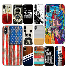 Retro vintage wood radio Black TPU Case cover For iPhone 5 5S 6 6s 7 8 Plus X XS XR 11 Pro Max(China)