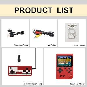 Image 5 - 800 IN 1 레트로 비디오 게임 콘솔 휴대용 게임 휴대용 포켓 게임 콘솔 어린이를위한 미니 핸드 헬드 플레이어 선물