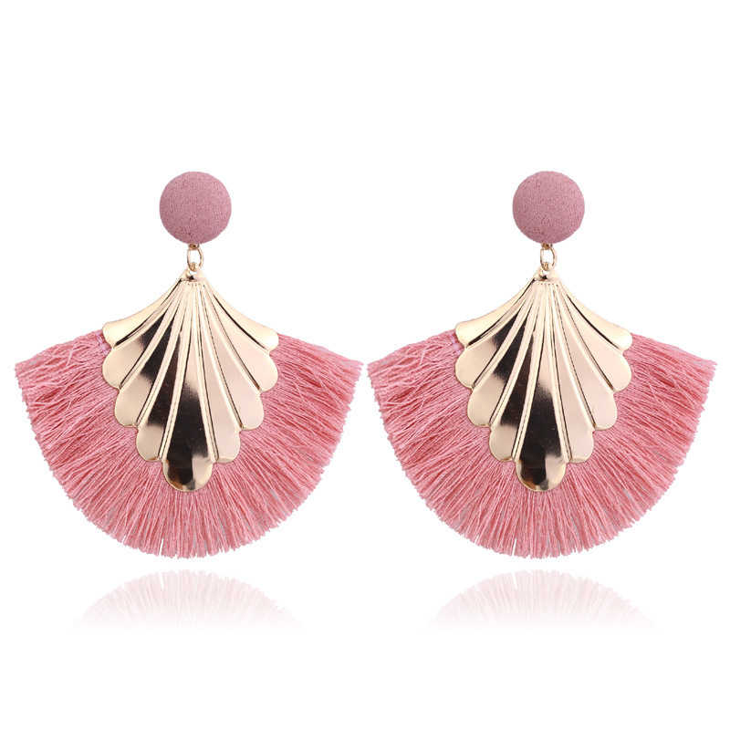 2019 Long Tassel Earrings for Women Big Fashion Statement Dangle Earring Bohemian Fringe Vintage Earring
