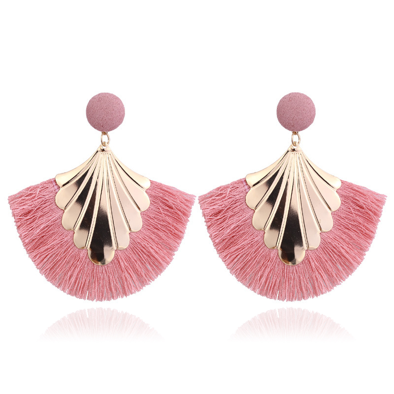LATS 2020 Long Tassel Earrings for Women Big Fashion Statement Dangle Earring Bohemian Fringe Vintage Earring