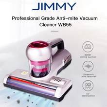JIMMY – aspirateur Anti-acariens WB55, moteur 600W, 2 Modes de nettoyage pour la literie, matelas, soie, tissu en coton