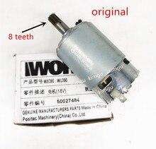 18V 20V WORX Motor RS 550VD 6532 H3 для WORX 50027484 WU390 WX390 WX390.1 WX390.31 WU390.9 WX390.9 Rockwell 20V H3 QN147Y12