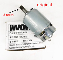 18V 20V WORX Motor RS 550VD 6532 H3 for WORX 50027484 WU390 WX390 WX390.1 WX390.31 WU390.9 WX390.9 Rockwell 20V H3 QN147Y12