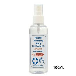 100ml 75% Alcohol Disinfection Spray Sterilization Sanitizing Liquid Hand Soap T4MB
