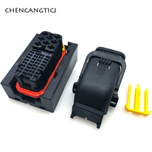 цена на 1 pcs/set 40 pin/way TE / AMP automotive PCB/ECU ignition harness connector plug socket without terminal seal 1473252-1