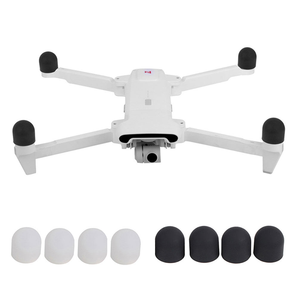 4pcs Guard Motor Cap For FIMI X8 SE Protective Motor Cover Dustproof Silicone Case Protector Drone Quadcopter Accessories