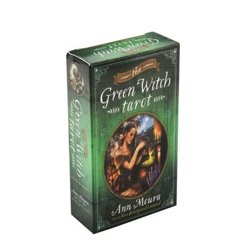 78pcs The Green Witch Tarot Cards Deck Party Board Game Oracle Playing Card недорого