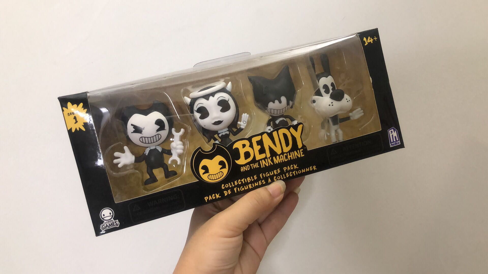 Original Bendy and the Ink Machine : Collectible Figure Pack (4 Figures) Action Figure Collectible Model Toy In Box