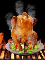 Nowa kuchnia na świeżym powietrzu narzędzia do grillowania ze stali nierdzewnej kurczaka kaczka uchwyt stojak Grill stojak pieczenia do grillowania żebra kurczaka z grilla stojak na na