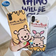 Disney Winnie the Pooh All inclusive Soft Case for iPhone 11 12 Pro Max XR XS Max 7 8 Plus X SE2020 Full Body Phone Back Cover