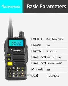 Image 5 - Quansheng UV R50 2 Nâng Cấp Di Động Bộ Đàm VHF UHF Băng Tần Comunicador HF Thu Phát UV R50 1 UV R50 Series Uv 5r