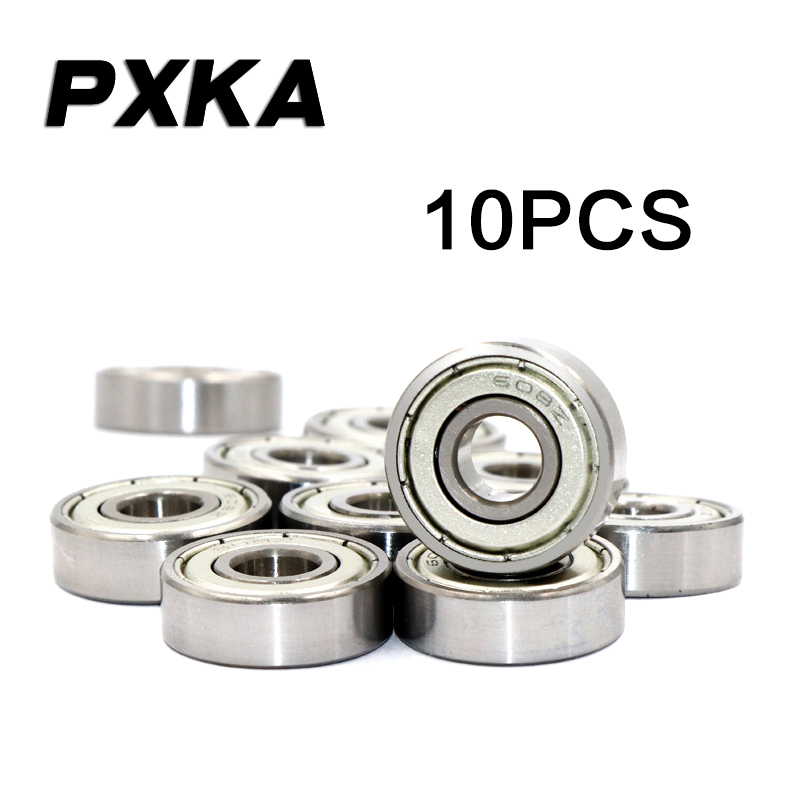 AT Bearing 6x10x3mm RS chrome steel rubber sealed 1pc mr106-2rs