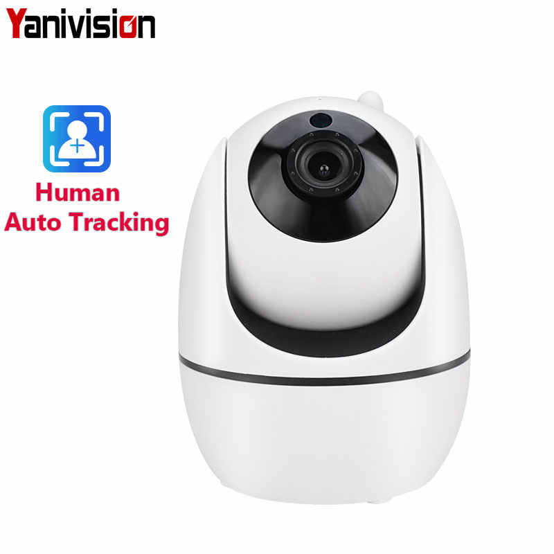 1080P IP Wifi Camera Mini HD Auto Tracking Onvif Night Vision Baby Monitor Smart CCTV Home Security Wireless Camera