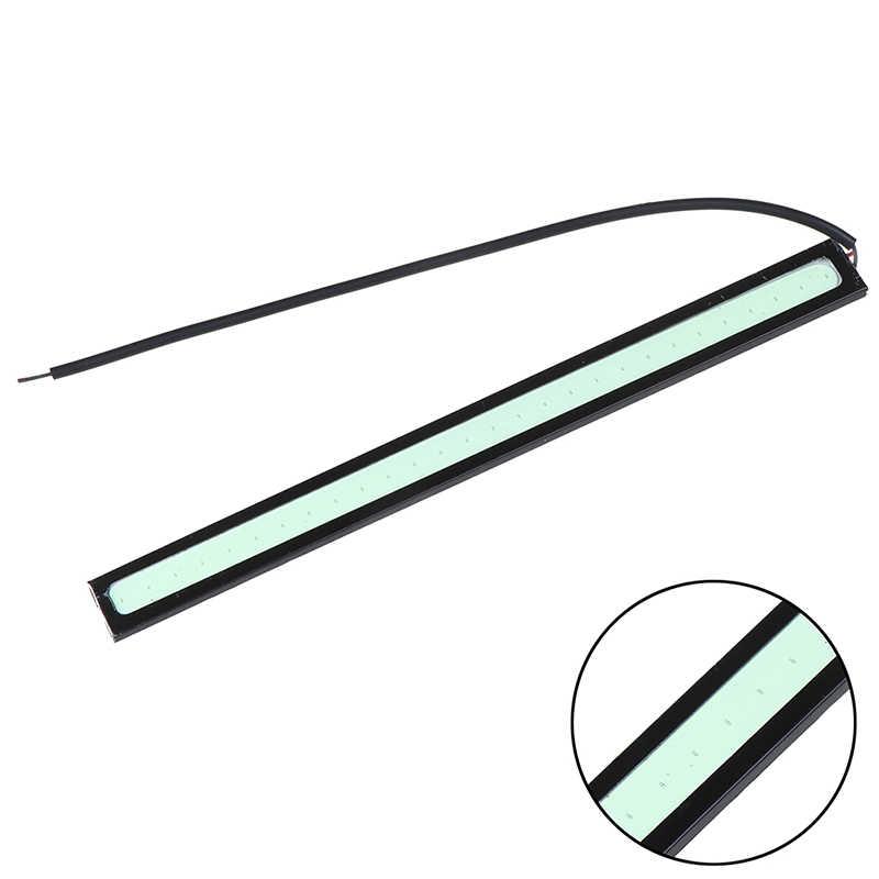 1 قطعة Led COB الضباب مصباح العالمي مقاوم للماء تصفيف السيارة Led ضوء النهار DRL مصباح للسيارات 17 سنتيمتر النهار تشغيل أضواء