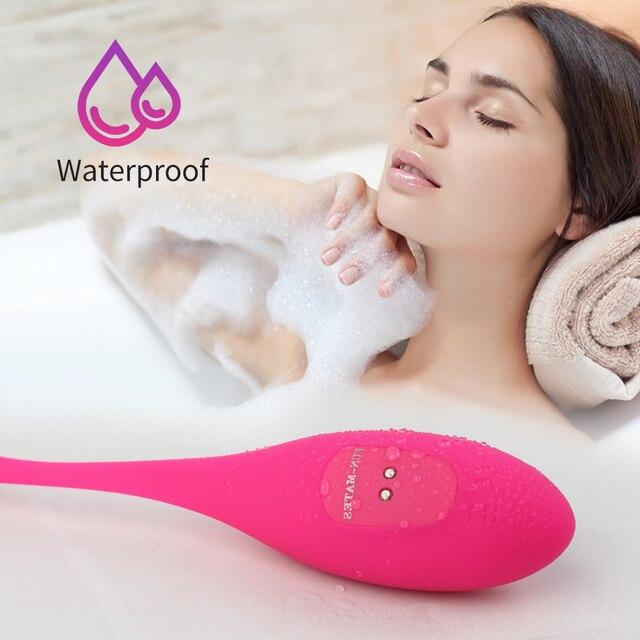 APP Vibrator Sex Spielzeug mit Fernbedienung G-spot Klitoris Stimulator Vagina Massager Vibrierendes Ei 6