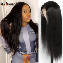Glueless Straight Lace Front Wig Brazilian 13x4 Lace Frontal