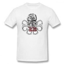 Hail Hydra Of Usa Vs The Saviour off white Mens Basic Short Sleeve T-Shirt 100 Percent Cotton Graphic Tshirt