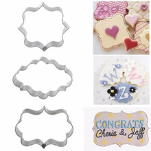 Biscuit Mold Stamp Pastry-Tool Cookies-Frame Sugar Plaque-Cutter Cake Oval Rectangle