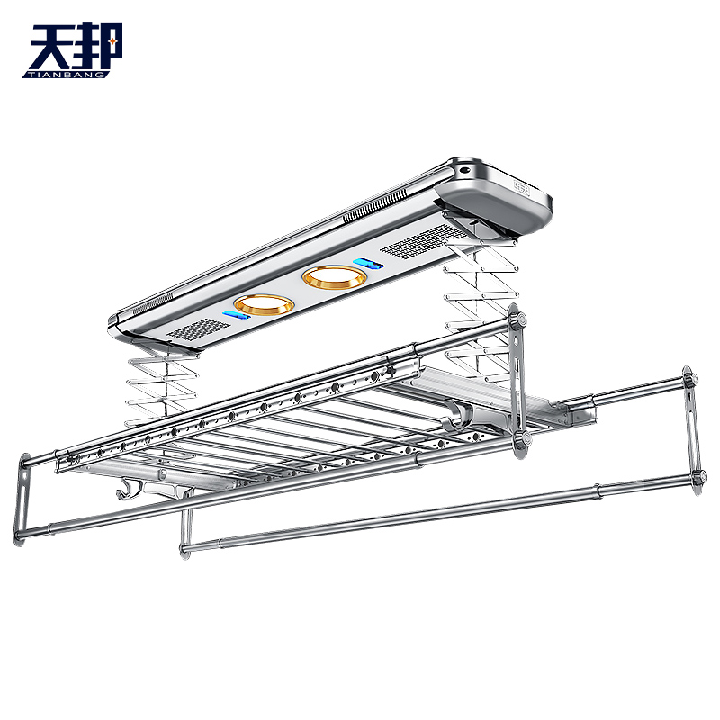 Intelligent Remote Control Automatic Telescopic Clothes Drying Machine For Elevating Bar Balcony Of Electric Clothes Drying Rack
