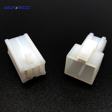 все цены на 5sets 2pins 7.8mm series automobile electrical waterproof male female wire harness connector plastic large current fuse plug онлайн