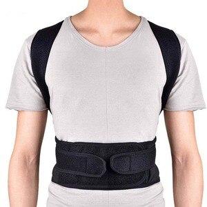Image 2 - 4XL Upper Back Pain Relief Correctorร่างกายShapersไหล่เข็มขัดผู้ใหญ่เด็กกระดูกสันหลังป้องกันเอววงเล็บ